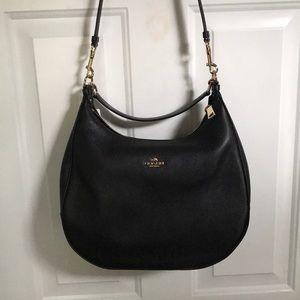 NWT Black Coach purse